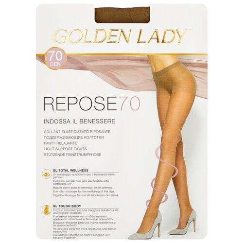 Колготки Golden Lady Repose 70 den, размер 5-XL, daino (бежевый) angle of repose