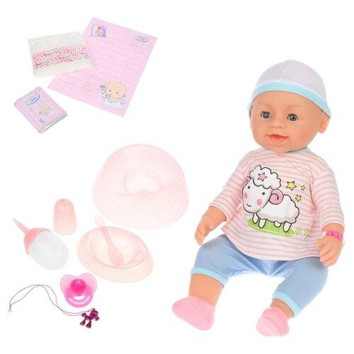 Фото - Интерактивный пупс Warm baby, 40 см, 8040-486 интерактивный пупс baby doll