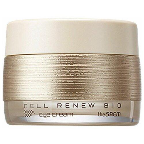 The Saem Крем для кожи вокруг глаз Cell Renew Bio Eye Cream 30 мл гельскатка micro peel soft gel 40 мл the saem cell renew bio