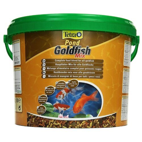 Сухой корм для рыб Tetra Pond Goldfish Mix 10000 мл сухой корм для рыб tetra goldfish 10000 мл