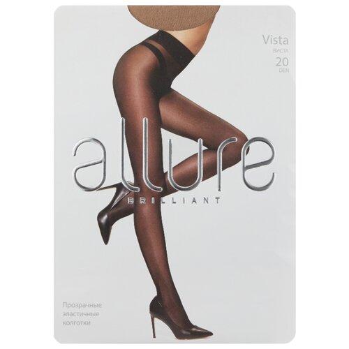 Колготки ALLURE Brilliant Vista 20 den, размер 5, caramello (бежевый) колготки 20 den черн allure