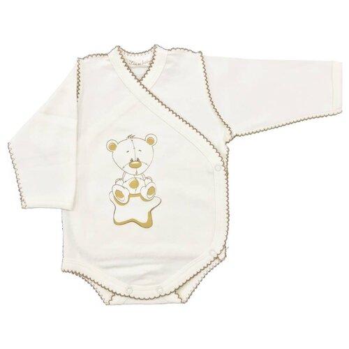 Боди Linas Baby размер 62 (1-3), ванильныйБоди<br>