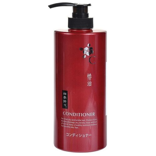 Купить KUMANO Кондиционер для сухих и поврежденных волос с маслом Камелии Shiki-Oriori, 600 мл