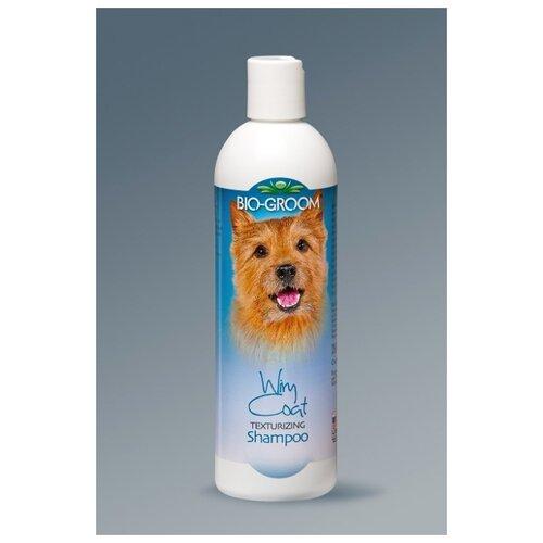 Шампунь-кондиционер для собак и кошек Bio-Groom Wiry Coat, для жесткой шерсти, 355 мл шампунь bio groom super white для собак белого и светлых окрасов 355 мл
