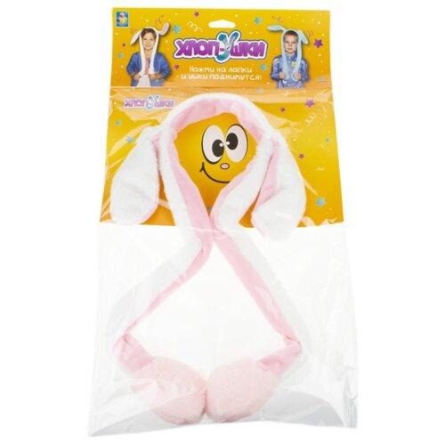 Купить Ободок 1 TOY Хлоп-Ушки Единорог (Т17628), белый, Карнавальные костюмы