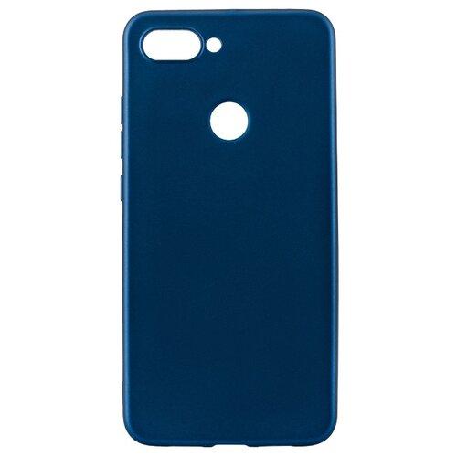 Чехол Akami Soft-touch для Xiaomi Mi 8 Lite синий