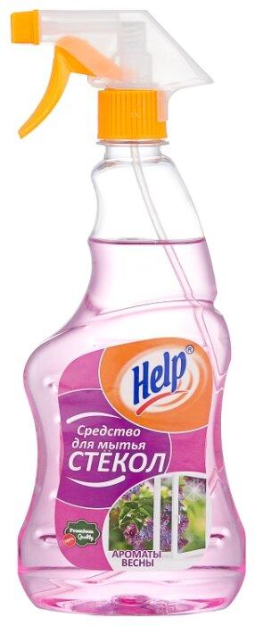 Спрей Help Ароматы весны для мытья стекол 500 мл