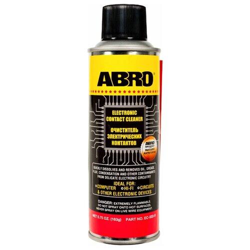 Очиститель ABRO EC-533-R 0.16 кг баллончик очиститель abro смывка краски 0 28 кг