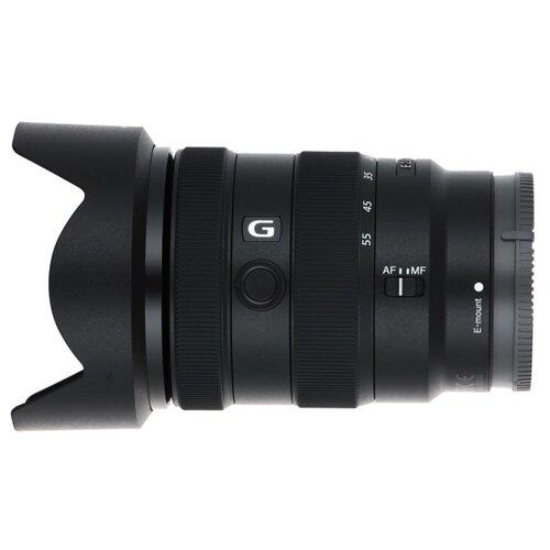 Фото - Объектив Sony E 16-55 mm f/2.8 G (SEL1655G) черный объектив viltrox pfu rbmh 20mm f 1 8 asph sony e черный