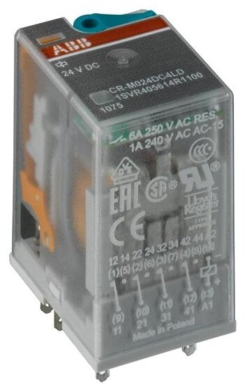 Промежуточное реле ABB 1SVR405613R3100