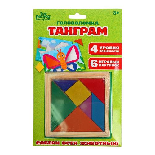 Головоломка Лесная мастерская Танграм (4289718)