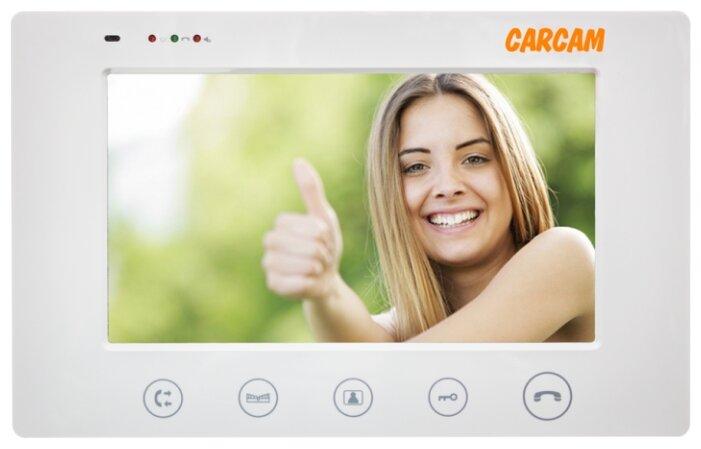 Домофон (переговорное устройство) CARCAM DW-710 белый (домофон)