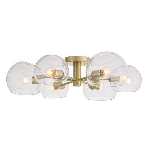 Люстра ST Luce Calmare SL434.202.06, E14, 240 Вт, кол-во ламп: 6 шт., цвет арматуры: латунный, цвет плафона: бесцветный недорого