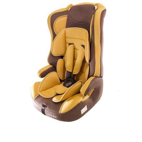 Купить Автокресло группа 1/2/3 (9-36 кг) Мишутка LB 513RF, light brown/brown, Автокресла
