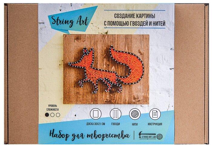 String Art Lab Набор для творчества Лиса (A4002)