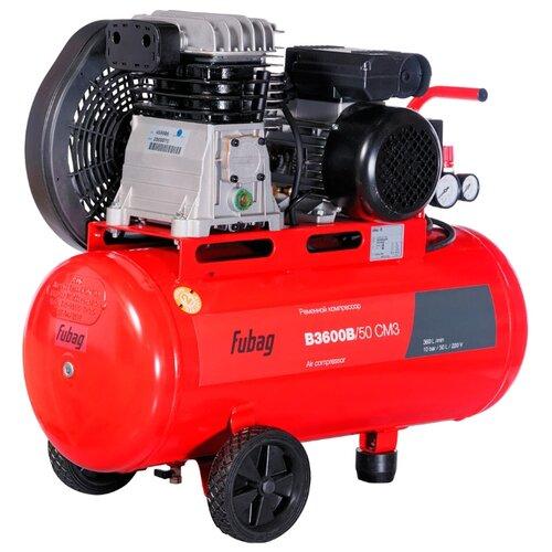 Компрессор масляный Fubag B3600B/50 CM3, 50 л, 2.2 кВт компрессор fubag b 2800 b 100 cm3