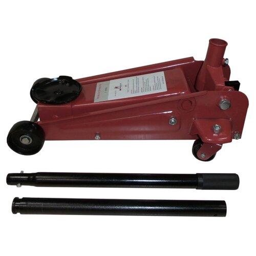 Домкрат подкатной гидравлический Skybear 420310 (3 т) красный