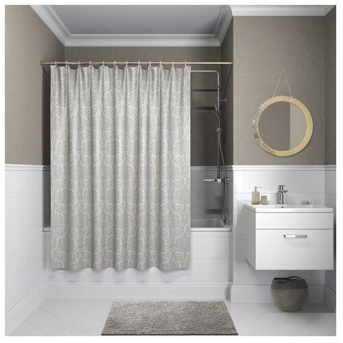 Фото - Штора для ванной IDDIS Decor D01P118i11 180х180 серый коврик iddis decor d12c580i12 темно серый