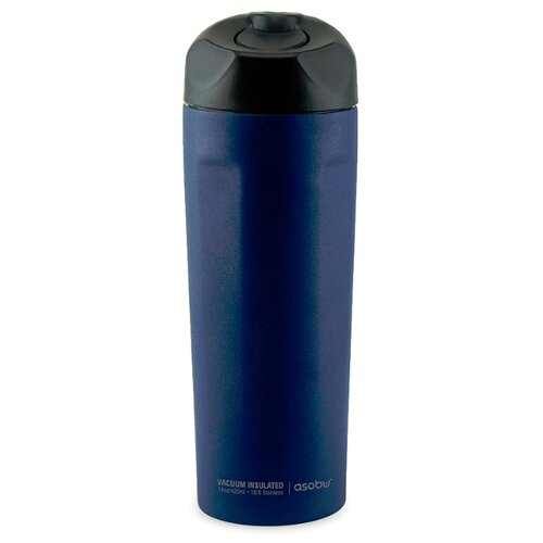 Термокружка asobu Easy access (0,42 л) синий термокружка 0 38 л asobu sparkling mugs золотистая mug 550 gold