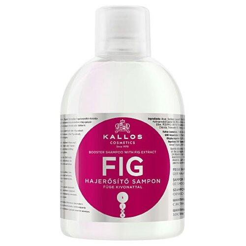 Купить Kallos шампунь KJMN Fig Booster для восстановления тонуса слабых и тонких волос, 1 л