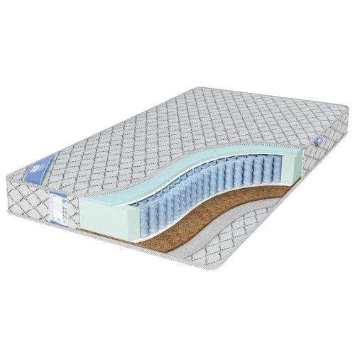 Матрас Промтекс-Ориент EcoMP Комби 2 180x200 пружинный серебристый матрас промтекс ориент ecomp стандарт 2 180x200 ортопедический пружинный серебристый