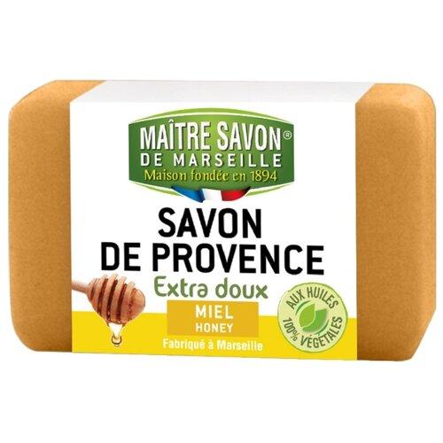 Мыло кусковое Maitre Savon de Marseille Мёд, 100 г