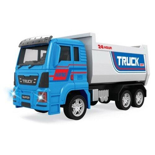 Купить Грузовик ABtoys 89002A-1 1:18 синий/серый, Машинки и техника