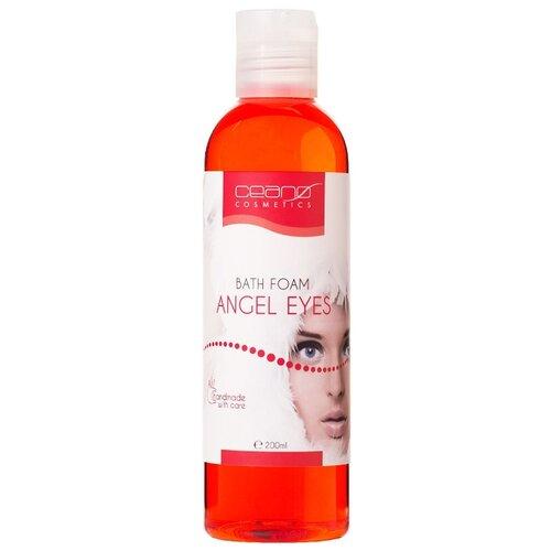 Ceano Cosmetics Пена для ванн Глаза ангела, 200 мл ceano cosmetics кремер для ванн малина 40 г