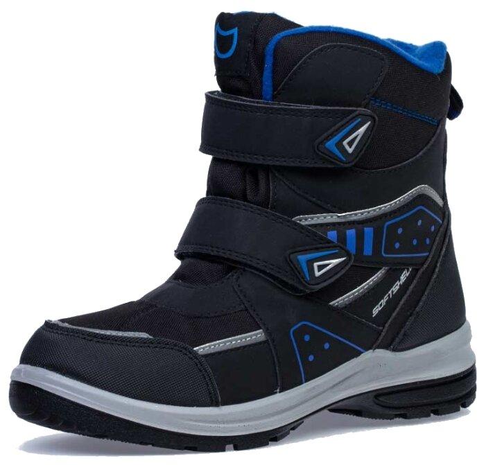 Купить Ботинки КОТОФЕЙ размер 40, черный/синий по низкой цене с доставкой из Яндекс.Маркета (бывший Беру)