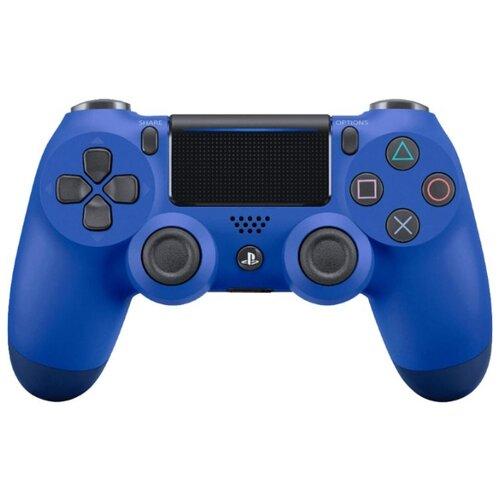цена на Геймпад Sony DualShock 4 v2 (CUH-ZCT2E) синяя волна