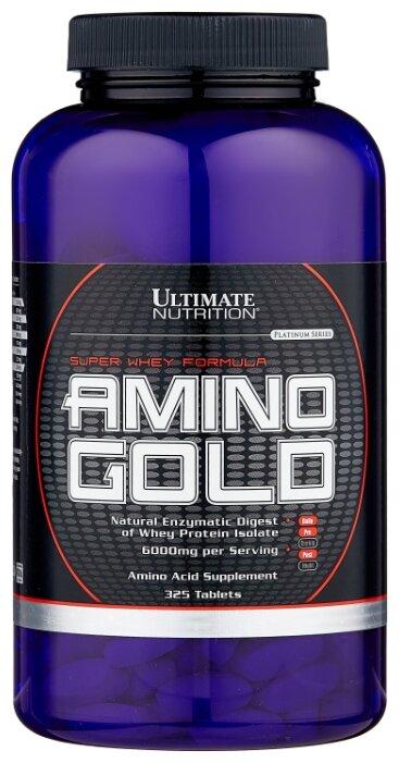 Аминокислотный комплекс Ultimate Nutrition Amino Gold 1500 (325 таблеток) — купить по выгодной цене на Яндекс.Маркете