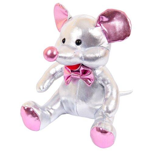 Купить Мягкая игрушка ABtoys Металлик Мышка серебристая 16 см, Мягкие игрушки