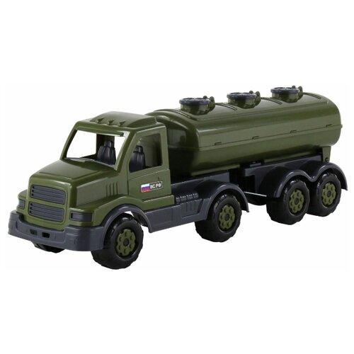 Купить Грузовик Полесье военный с полуприцепом-цистерной Сталкер (48660) 56.5 см ВС РФ, Машинки и техника