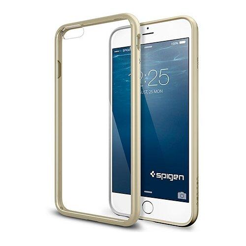 Фото - Чехол-накладка Spigen Ultra Hybrid для Apple iPhone 6 Plus/iPhone 6S Plus champagne gold чехол накладка bengamins bj6pfcup для apple iphone 6 plus iphone 6s plus cupcake soft foam