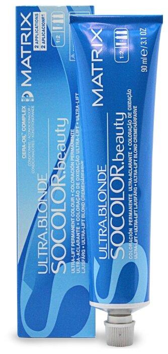 Matrix Socolor Beauty стойкая крем-краска для волос Ultra blonde, 90 мл — цены на Яндекс.Маркете