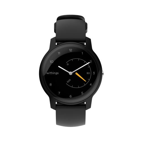 Умные часы Withings Move Basic Essentials, black/yellow gold
