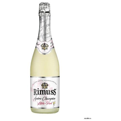Шампанское безалкогольное Rimuss Litchi Perl с ароматом личи 0,75 л