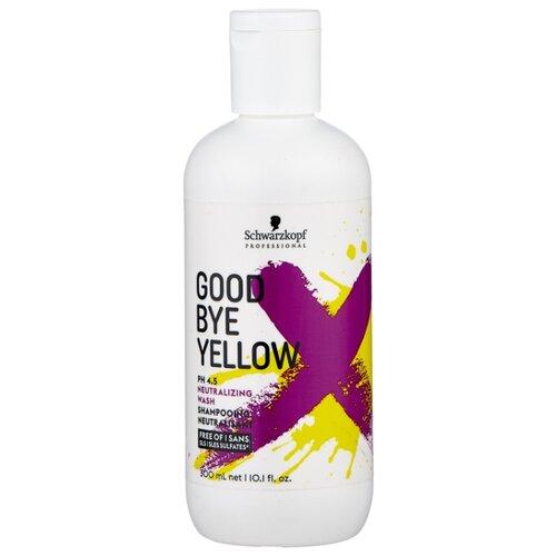 Schwarzkopf Professional шампунь Goodbye Yellow Neutralizing Wash 300 мл