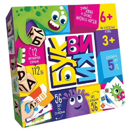 Настольная игра Danko Toys Буквики