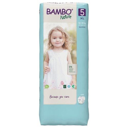 Купить BAMBO подгузники Nature 5 (12-18 кг) 44 шт., Подгузники