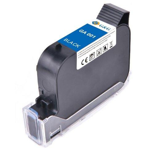 Фото - GA-001BK струйный пигментный черный картридж для принтеров GG-HH1001B, GG-HH1001A, 42 ml клей аквенс ga 6642 gel aquence ga 6642 gel 20 кг