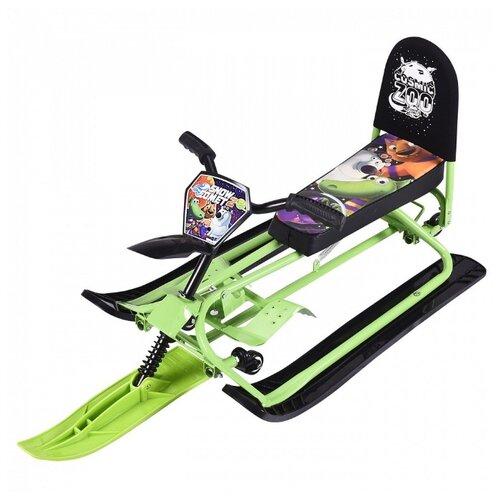 Снегокат Small Rider Snow Comet 2 зеленый