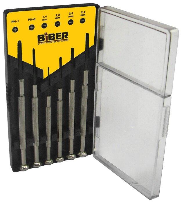 Набор отверток для точных работ Biber 85565