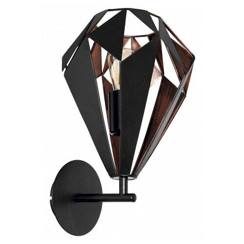 Фото - Настенный светильник Eglo Carlton 1 49992, 60 Вт торшер eglo carlton 1 49994 60 вт