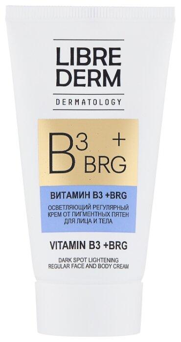 Librederm BRG + витамин В3 Осветляющий регулярный крем от пигментных пятен для лица и тела — купить по выгодной цене на Яндекс.Маркете