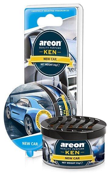 AREON Ароматизатор для автомобиля Ken Blister New Car AKB11 35 г