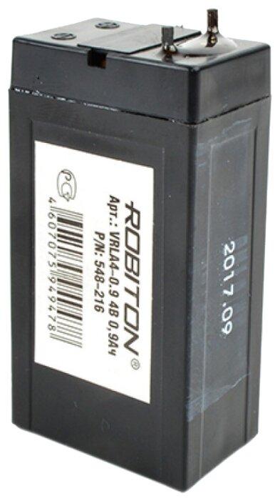 Аккумуляторная батарея ROBITON VRLA4-0.9 0.9 А·ч