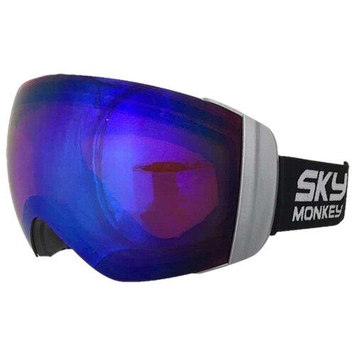 Маска Sky Monkey SR45 RV серый/синий