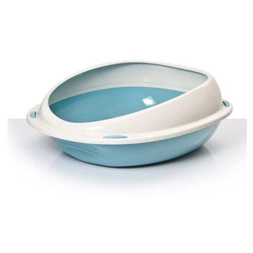 Туалет-лоток для кошек Lilli Pet 20-5380 45х36х15 см голубой