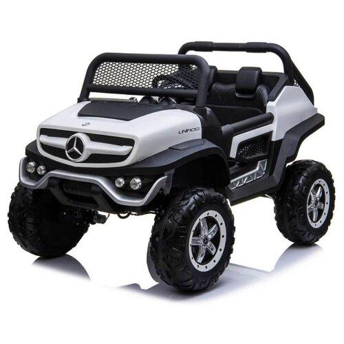 Купить RiverToys Багги Mercedes-Benz Unimog Concept P555BP 4WD, белый, Электромобили